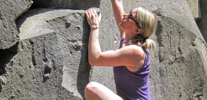 Boulderen en racen in de Eifel